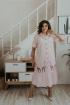 Платье Ольга Стиль С-678 светло-розовый