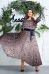 Платье,  Пояс Anastasia 063.6А т.син-розовый