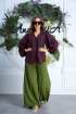 Блуза,  Брюки Anastasia 607 зеленый