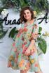 Платье Anastasia 612 св.зеленый