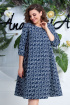 Платье Anastasia 614 т.синий
