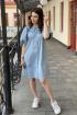 Платье S.O.L O Me 849 голубой
