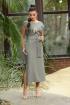 Платье Galean Style 802 хаки