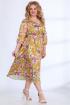 Платье Angelina & Сompany 516 желтые_орхидеи