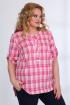 Блуза,  Шорты Angelina & Сompany 532 розовый-темно_синий