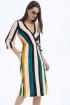 Платье LaVeLa L1940 полоска_цветная