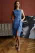 Платье,  Пояс Madech 215368 деним