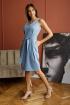 Платье,  Пояс Madech 205356 светло-голубой