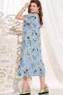 Платье Vittoria Queen 13853 голубой_ананасы