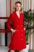 Платье Панда 13780z красный