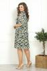 Платье Solomeya Lux 800 разноцветные_ромашки