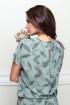 Платье LeNata 12130 на-зеленом-рисунок