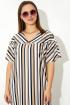 Платье VIZANTI 1031 бежевый
