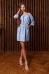 Платье Art Oliya 77 голубой