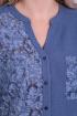 Блуза,  Брюки ELGA 12-695/1 синий