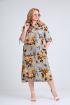 Платье Mamma Moda M-702 серый_фон