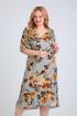 Платье Mamma Moda M-680 серый_фон