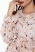 Платье Anelli 1021 пудра_фон