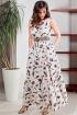 Платье Teffi Style L-1566 перышки