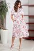 Платье Teffi Style L-1550 яблоневые_цветы