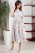 Платье Teffi Style L-1492 серый