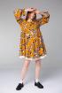 Платье Ivera 1010 горчица, бежевый