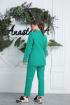 Брюки,  Жакет Anastasia 580 ярко-зеленый