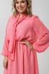 Платье Pretty 1974 розовый-белый
