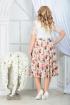 Платье Ninele 5833 желтые_розы