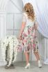 Платье Ninele 5833 зеленые_розы