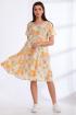 Платье Angelina & Сompany 538 желтые_цветы