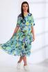 Платье Angelina & Сompany 539 голубые_цветы