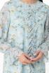 Платье Anelli 1013 бирюза