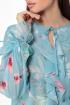Платье Anelli 1019 бирюза