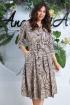 Платье Anastasia 618 капучино