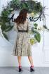 Платье,  Ремень Anastasia 618А олива