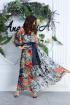 Платье,  Пояс Anastasia 625 синий