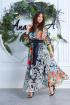 Платье,  Пояс Anastasia 625а синий