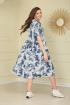 Платье TAiER 993 синий_джинс