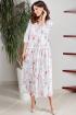 Платье Teffi Style L-1496/1 розовые_лилии