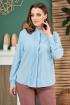 Блуза Anastasiya Mak 803 голубой