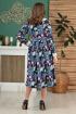 Платье Anastasiya Mak 786.1 мультиколор
