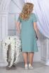 Блуза,  Платье Ninele 5834 светло-зеленый_белый