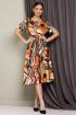 Жакет,  Платье Мода Юрс 2513-0 оранж