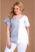 Блуза Таир-Гранд 62402 полоска-одуванчик