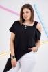 Блуза GRATTO 4130 черный