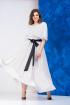 Платье,  Пояс Anastasia 628 молочный