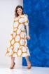 Платье Anastasia 634 горчица