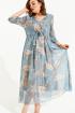 Платье ELLETTO 1844 бирюзовый