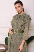 Платье Мода Юрс 2554 зеленый